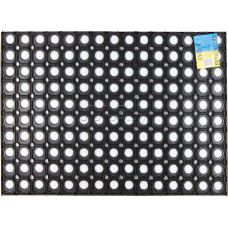 Коврик придверный 40х60 см черный Соты