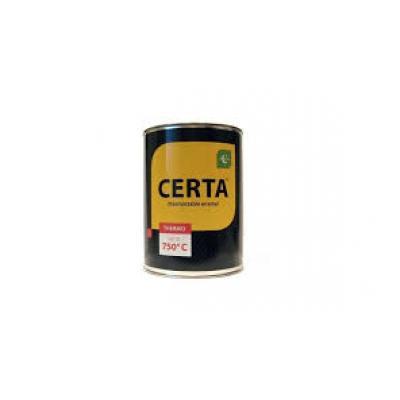 Краска термостойкая, черная CERTA
