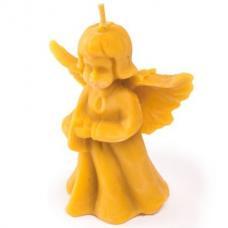 Свеча восковая  Ангелок женщина сложенные ручки