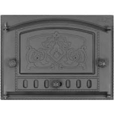 Дверка каминная с рисунком ДК-2Б (Р)