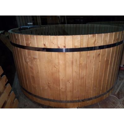 Купель круглая, диаметр 1,5 м