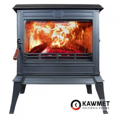 Чугунная печь-камин KAWMET Premium S12 (12,3 кВт)