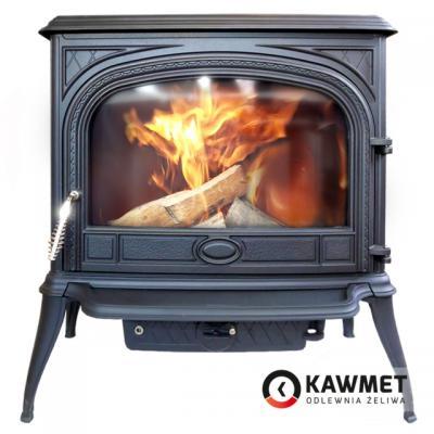Чугунная печь-камин KAWMET Premium S6 (13,9 кВт)