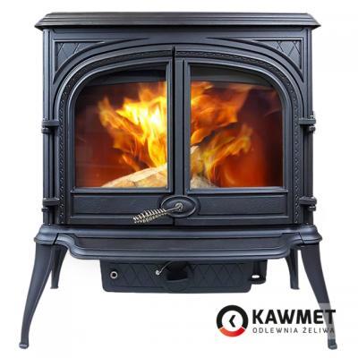Чугунная печь-камин KAWMET Premium S8 (13,9 кВт)