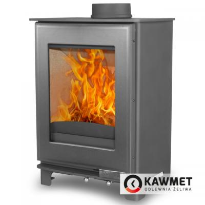 Чугунная печь-камин KAWMET Premium S16 (4,9 кВт)