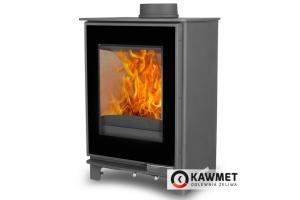 Чугунная печь-камин KAWMET Premium S17 Dekor (4,9 кВт)