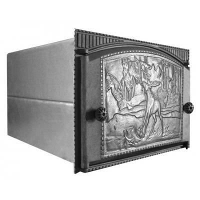 Духовка крашенная ДХ сталь, с дверцей ДТК, 375х300х500 (Рубцовск)