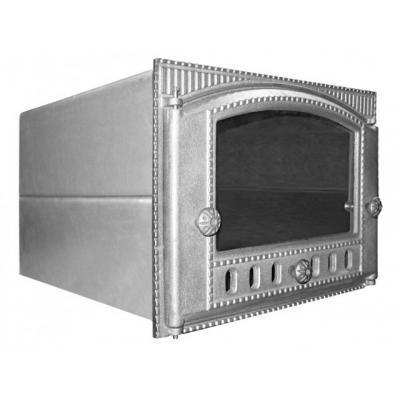 Духовка крашенная ДХС сталь, с дверцей ДТК под стекло (Рубцовск)