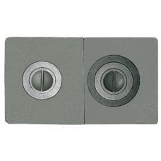 Плита чугунная СБОРНАЯ 2-конф. ПС2-3, 710х410 (РУБЦОВСК)