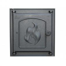 Дверца топочная 360 LK, 250х280, глухая