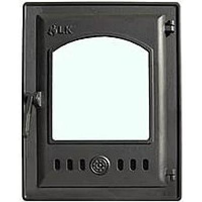 Дверца топочная 310 LK, 250х350, со стеклом, герметичная 250х350