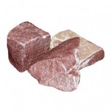 Камень МАЛИНОВЫЙ КВАРЦИТ колотый коробка 20кг