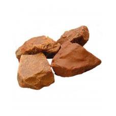 Камень ЯШМА СУРГУЧНАЯ колотый 10кг ведро
