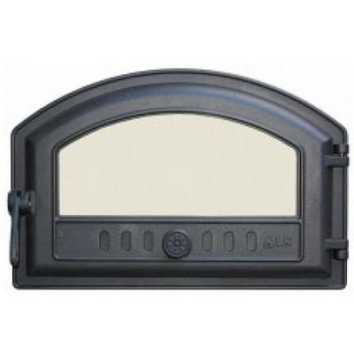 Дверца топочная 324 LK, 180/250х410, со стеклом, герметичная