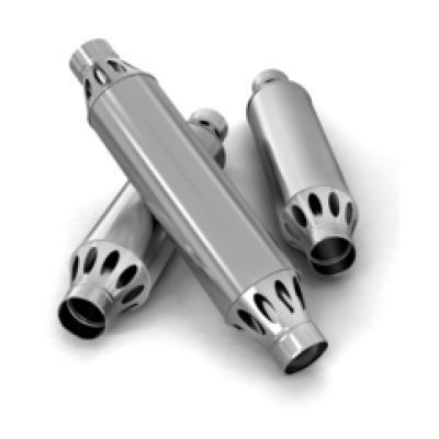 Дымоход-конвектор РЭМБО ф120, 1м, 1/0,5мм, нерж/нерж
