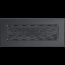 Решетка вентиляционная Kratki графитовая 11*24