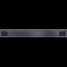 Решетка вентиляционная Kratki графитовая Luft 90*800