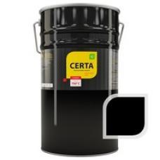 Краска термостойкая, черная  банка  CERTA  4кг