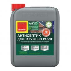Неомид 440 ЕСО (5Л) - деревозащитный состав для наружных работ