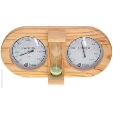 Термометр + гигрометр + песочные часы