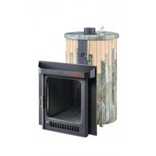 Печь для бани Feringer Оптима ПФ (Жадеит + Окаменевшее дерево)
