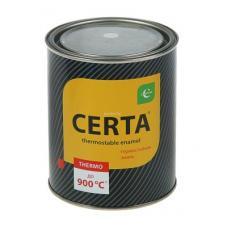 краска термостойкая, черная CERTA 0,7кг