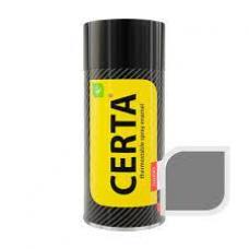 Краска термостойкая, серебро  CERTA, 520мл